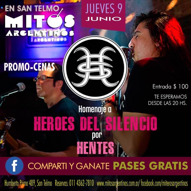 9-6  HEROES DEL SILENCIO por Hentes